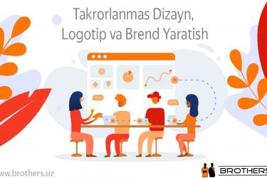 Dizayn, Logotip va Brend Yaratish
